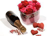 Make your evening extra special by planning a surprise for your beloved one with Chamagne and Roses.